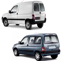 Attelage rigide fixe Peugeot Partner I 1996//2008 faisceau 13 broches