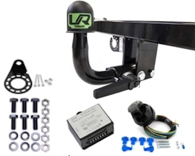 ECS 7 Broches Barre De Remorquage Remorque Câblage Kit pour PEUGEOT 508 tous types 2011 />