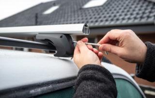 barres de toit en acier ou en alu